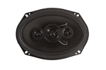 Speakers ideally suited for factory replacement and for connection directly to source unit.