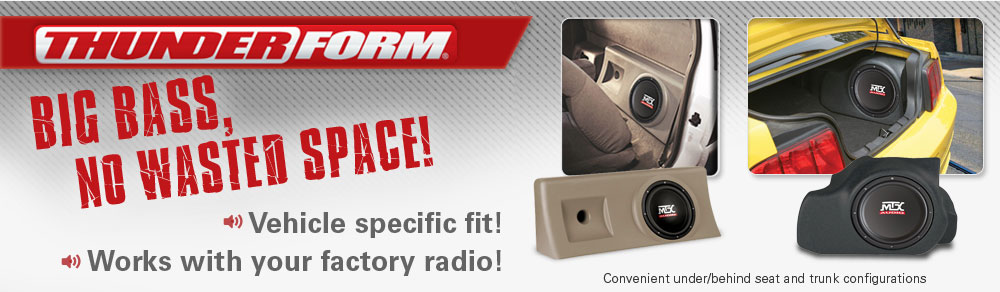 Go from Stock to Rock with vehicle specific Thunderform enclosures!