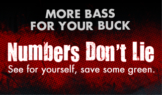 Get more bass for your buck!  The NUMBERS DONT LIE - see how MTX compares!