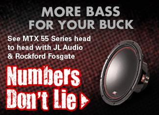 MTX is more bass for your buck!  The numbers dont lie...see head to head comparisons!