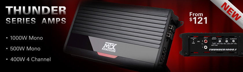 MTX THUNDER Series Amps - New!  From $121