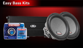 Easy bass kits with MTX subwoofers and amps from $299! |T19,0001,0020