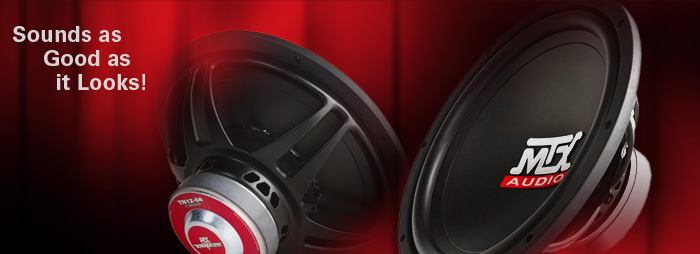 MTX Terminator Subwoofers - Sound as good as they look!