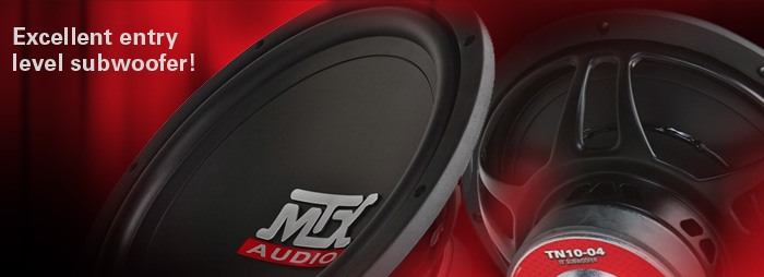MTX Terminator Subwoofers are Excellent Entry Level Subs