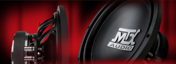 MTX Road Thunder subwoofers - amazing bass, amazingly affordable!