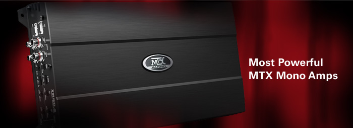 TH Series Car Amplifiers are MTX most powerful and top-rated amplifier line.