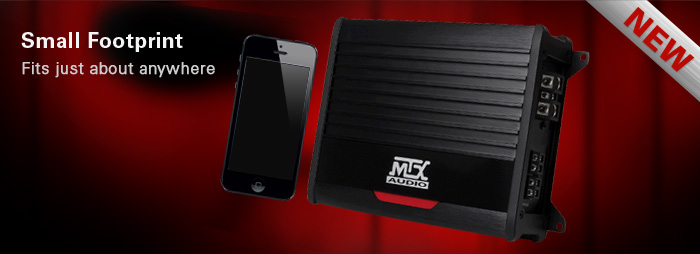 THUNDER car amplifiers have a small footprint - fit any car, just about anywhere.