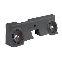 "Dual 10"" 4Ω 400W RMS Loaded Enclosure for Ford F-250 Regular Cab 2000-2006"