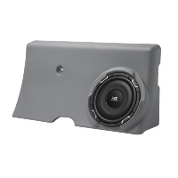 "Single 10"" 4Ω 300W RMS Loaded Enclosure for Ford F-250 Crew Cab 2000-2006"