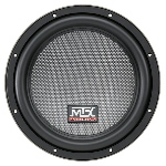 "MTX Mobile 10"" Dual 2&#937; 400W RMS Subwoofer 	"