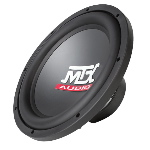 "12"" Single 4&#937; 250W RMS Subwoofer"