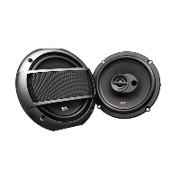 "6.5"" 3-Way 4&#937; 45W RMS Triaxial Speakers"