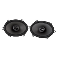 "6""x8"" / 5""x7"" 2-Way 4Ω 60W RMS Coaxial Speakers"