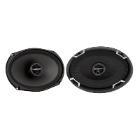 "6"" x 9"" 2-Way 4Ω 100W RMS Coaxial Speakers"