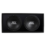 "MTX Mobile MTX Audio RoadThunder Dual 12"" Vented Enclosure"