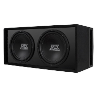 "MTX Audio RoadThunder Dual 12"" Vented Enclosure"
