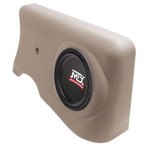 "Single 10"" 4&#937; 200W RMS Loaded Enclosure for Toyota Tacoma Regular Cab 1996-2004"