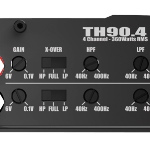 MTX Mobile TH Series 360W RMS 4-Channel Amplifier