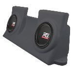 "MTX Mobile Dual 10"" 4&#937; 200W RMS Loaded Enclosure for Ford F-150 Regular Cab 1997-2003"