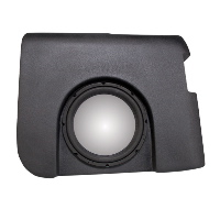 "Single 10"" Unloaded Enclosure for Chevrolet Silverado 1500/2500 Crew Cab 2007-2013"