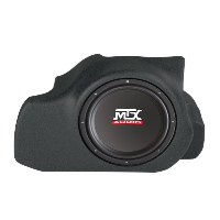 "Single 12"" 200W RMS Amplified Enclosure for Ford Mustang Cab 2005-2013"