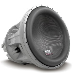 "MTX Mobile JackHammer 22"" Dual 2&#937; 4000W RMS Subwoofer"