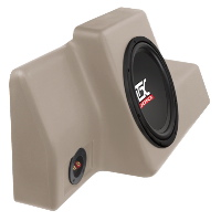 "Single 10"" 200W RMS Amplified Enclosure for Ford Ranger Regular Cab 1998-2011"