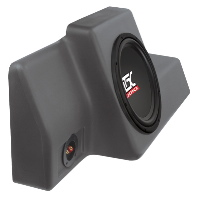 "Single 10"" 4Ω 200W RMS Loaded Enclosure for Ford Ranger Regular Cab 1998-2011"