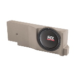 "MTX Mobile Single 12"" 200W RMS Amplified Enclosure for Ford F-150 Crew Cab 2004-2008"