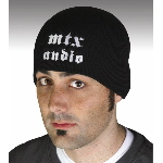 MTX Mobile MTX Audio Gothic Design Knit Beanie Hat
