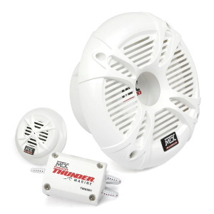 "Thunder Marine 6.5"" 2-Way 4&#937; 75W RMS Separate Speakers"