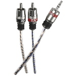 Streetwires 2-Channel Audio 3.5mm to RCA Cable 3.5 Meter - ZN7 Series