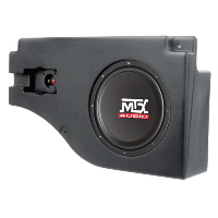 "Single 10"" 4&#937; 200W RMS Loaded Enclosure for Ford Expedition 1997-2002"