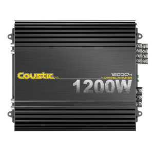 300W RMS 4-Channel Amplifier