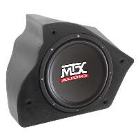 "Single 10"" 4Ω 200W RMS Loaded Enclosure for Chevrolet Camaro 1993-2002"