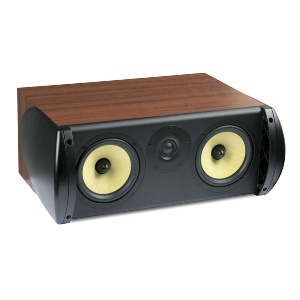 "Single 6.5"" 2-Way 6Ω 100W RMS Center Channel Loudspeaker"