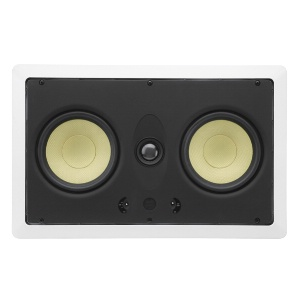 "Dual 5.25"" 2-Way 8Ω 60W RMS In-Wall LCR Loudspeaker (EACH)"