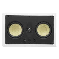 "Dual 5.25"" 2-Way 8&#937; 60W RMS In-Wall LCR Loudspeaker (EACH)"