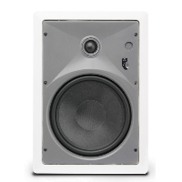 "Single 8"" 2-Way 8Ω 80W RMS In-Wall Loudspeaker (PAIR)"