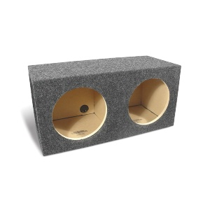 "Dual 10"" Sealed Subwoofer Enclosure"