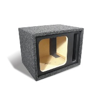 "Single 12"" Vented Square Subwoofer Enclosure"