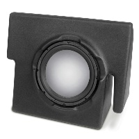 "Single 10"" Unloaded Enclosure for Dodge Dakota Quad Cab 2000-2011"