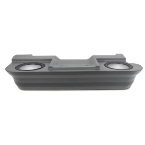 "Dual 10"" Unloaded Enclosure for Dodge Ram Extra Cab 1994-2001"