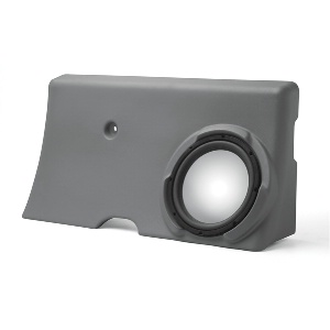 "Single 10"" Unloaded Enclosure for Ford F-250 Supercrew 2000-2006"