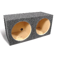 "Dual 12"" Subwoofer Enclosure"