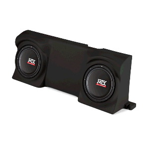 "Dual 12"" Amplified Enclosure for Ford F-150 Regular Cab 2004-2013"