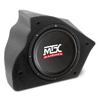 "Single 10"" 200W RMS Amplified Enclosure for Chevrolet Camaro 1993-2002"
