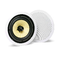 "Single 8"" 2-Way 8Ω 75W RMS In-Ceiling Loudspeaker (PAIR)"