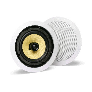 "Single 6.25"" 2-Way 8Ω 60W RMS In-Ceiling Loudspeaker (PAIR)"