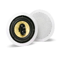 "Single 6.5"" 2-Way 8&#937;, 60W RMS Stereo Input In-Ceiling Speaker (EACH)"